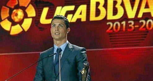 Imagen de la Gala de los �Premios LaLiga� de la temporada 2013-14.