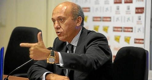 Del Nido, durante su etapa en la presidencia del Sevilla.