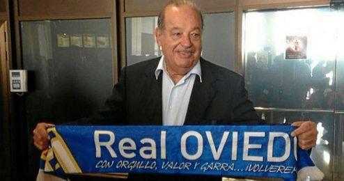 Carlos Slim ya controla el 71% del Oviedo.