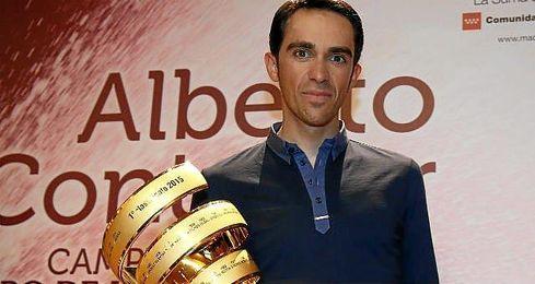 """""""Ganando una gran vuelta como el Giro no puedes decir que es una mala temporada""""."""