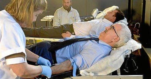 La jornada está organizada por el Centro Regional de Transfusión Sanguínea.