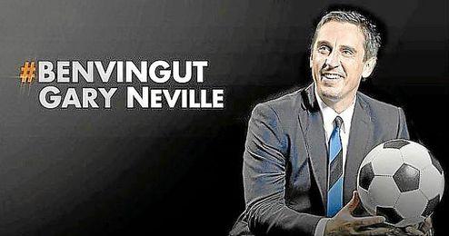 Gary Neville, nuevo entrenador del Valencia.
