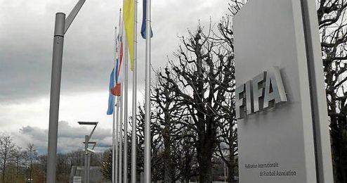 Los altos cargos de la FIFA se encuentran en Zúrich con motivo de la reunión del Comité ejecutivo que comenzó ayer.