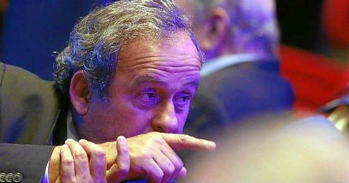 Platini se encuentra en suspensión provisional de su cargo como presidente de la UEFA.