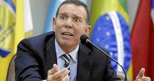 Juan Ángel Napout, presidente de la Confederación Sudamericana de Fútbol.