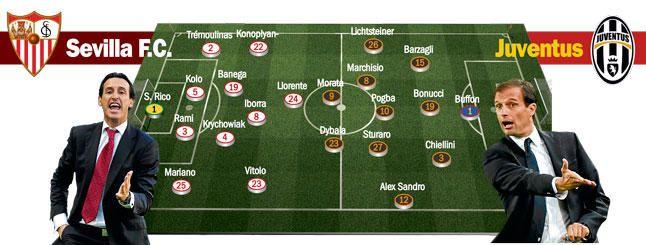 (Previa) Sevilla-Juventus: Por honor, por el trono, por Nervi�n