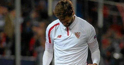 El riojano no celebr� el gol ante su ex equipo.