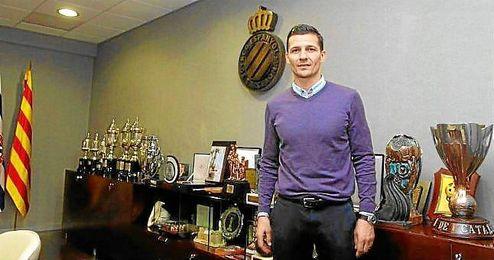 Constantin Galca, nuevo entrenador del Espanyol.