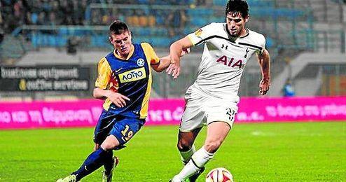 Fazio ha jugado un partido esta temporada, en la Copa de la Liga.
