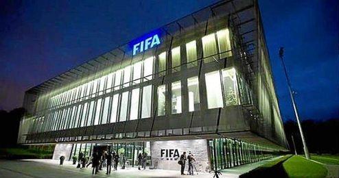 Sede mundial de la FIFA, en Suiza.