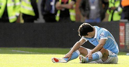 El futbolista, en un encuentro con su equipo.