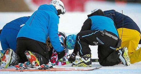 El deportista será trasladado a un centro médico de la ciudad austríaca de Innsbruck, la capital del Tirol.