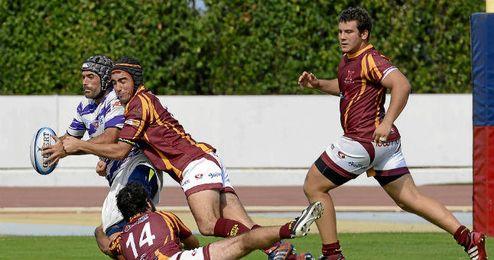 El Helvetia Rugby sac� la casta en Madrid.