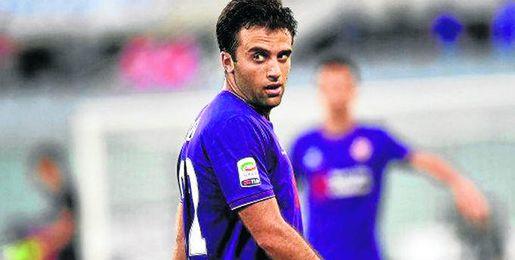 Rossi, con la Fiorentina.