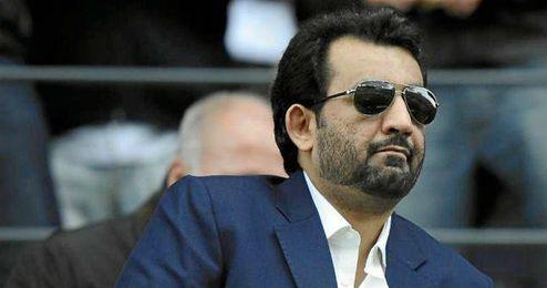 Al-Thani feliz por la sanci�n impuesta a los presidentes de la UEFA.