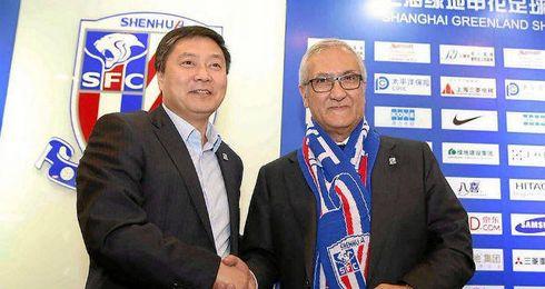Gregorio Manzano presentado como nuevo entrenador.