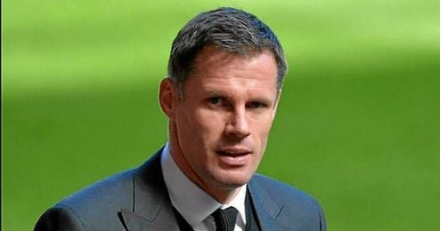 Jamie Carragher, ex capit�n del Liverpool.