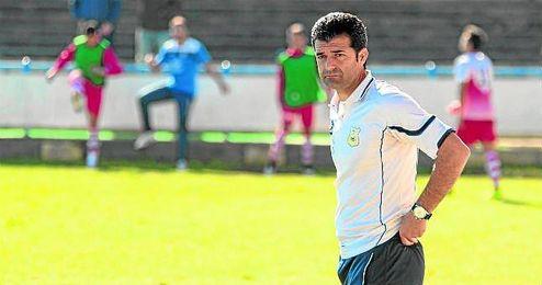 Imagen del entrenador ribereño.