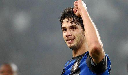 Andrea Ranocchia no tiene minutos en el Inter.
