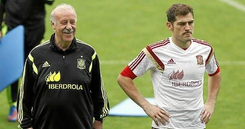 """""""El Oporto es un equipo que domina mucho, prácticamente como el Real Madrid en la Liga"""", dijo Del Bosque."""