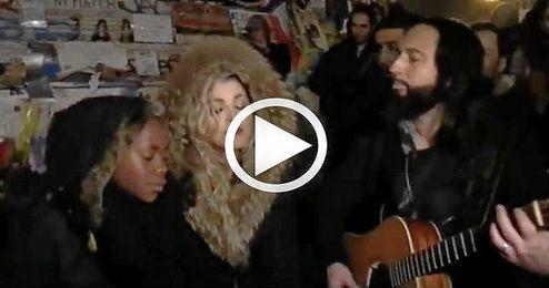 La improvisada actuación de Madonna da la vuelta al mundo