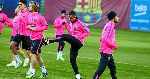 El Barcelona regresa a los entrenamientos sin Messi.