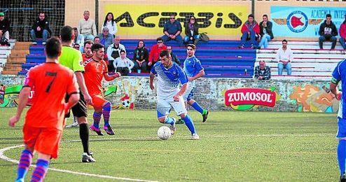 El delantero Recio ha sido sancionado con cuatro partidos.