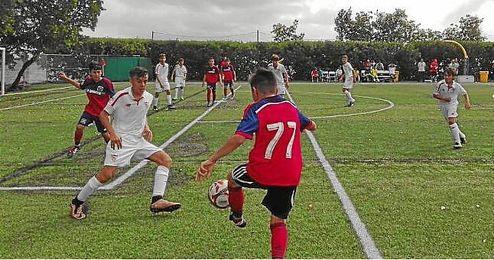 Lance de un encuentro del Sevilla en el torneo.