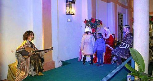 Los pequeños podrán encontrarse con los intermediarios de los Reyes Magos.