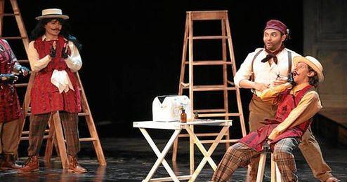 Imagen de archivo de una escena de la ópera de Rossini ´El barbero de Sevilla´.