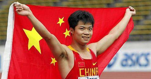 El segundo lugar lo ocupó el nadador Ning Zetao, de 22 años.