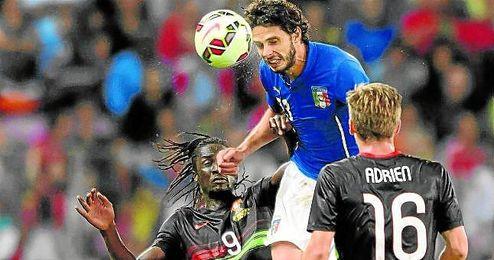 Ranocchia busca minutos para poder disputar la Eurocopa con Italia.