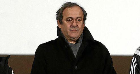 Platini insiste en su inocencia en el caso de corrupci�n de la FIFA.
