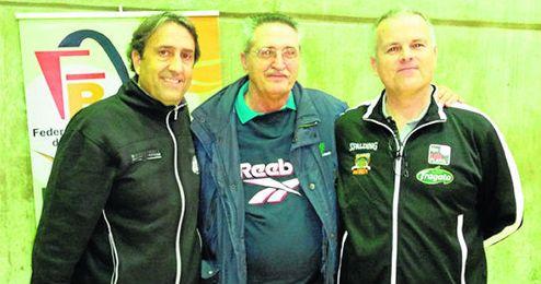 De izquierda a derecha, Luis Casimiro, José Alberto Pesquera y Javier Fijo.
