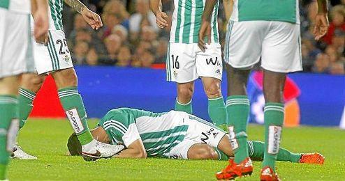 Bruno y Westermann se tuvieron que retirar lesionados