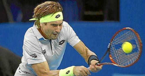 David Ferrer, en el partido ante Wawrinka.