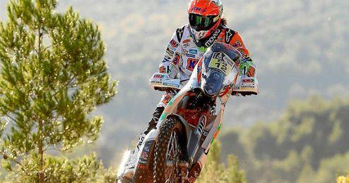 Laia Sanz en su KTM.