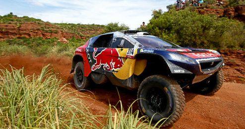 Tercera etapa del rally Dakar.