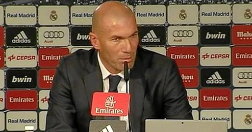 Zidane se ha mostrado optimista en su primera comparecencia.