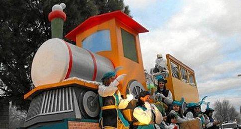 Cabalgata de Reyes en Écija.
