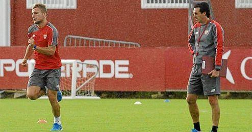 Ciro Immobile ha sido esta vez el descarte de Emery.