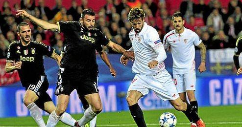 Fernando Llorente ya ha vivido un partido especial ante la Juventus este curso.