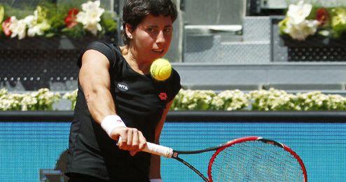 Carla Suárez, en el pasado Mutua Madrid Open