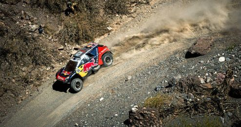 Novena etapa del rally Dakar.