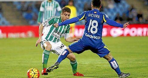 Franciso Portillo fue el jugador que mejor porcentaje de acierto tuvo en los pases en el Getafe-Betis.