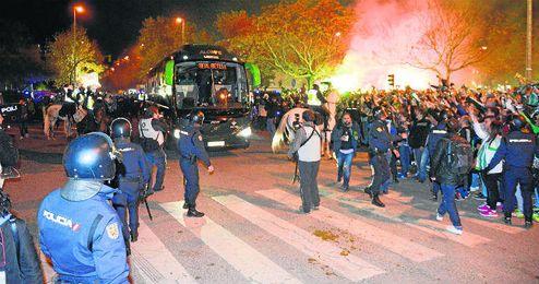 Casi 400 policías cuidarán de que no pase nada.