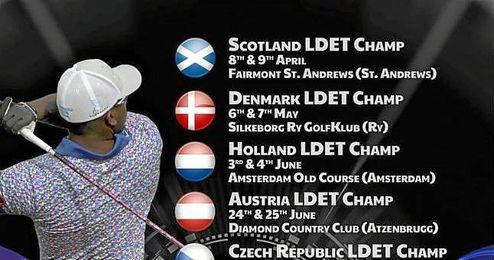 El show del long drive tambi�n recalar� en Austria en el Diamond Country Club.
