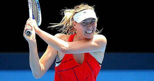 Sharapova está lista para jugar en Melbourne.