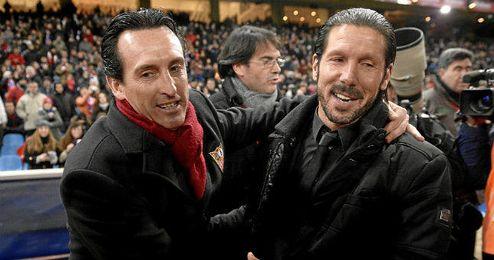 Emery es uno de los candidatos para suplir a Simeone en el Atl�tico.