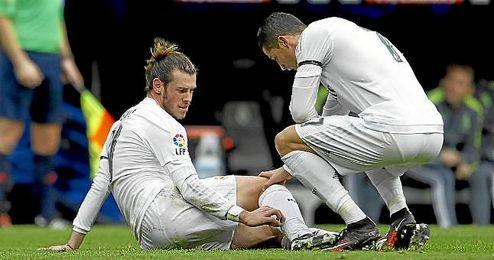 Bale se lesionó ante el Sporting.